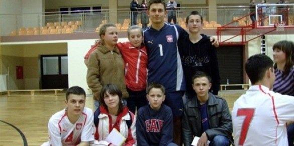 Spotkanie młodzieży z reprezentacją Polski